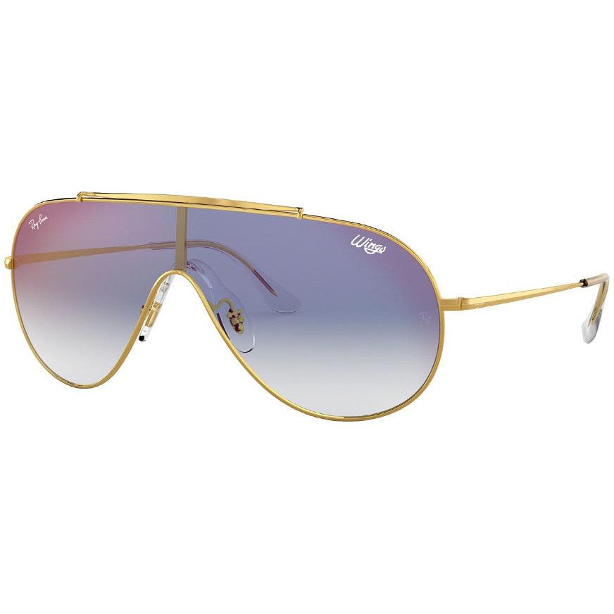 Ochelari de soare unisex Ray-Ban RB3597 001/X0 Panoramic originali cu comanda online
