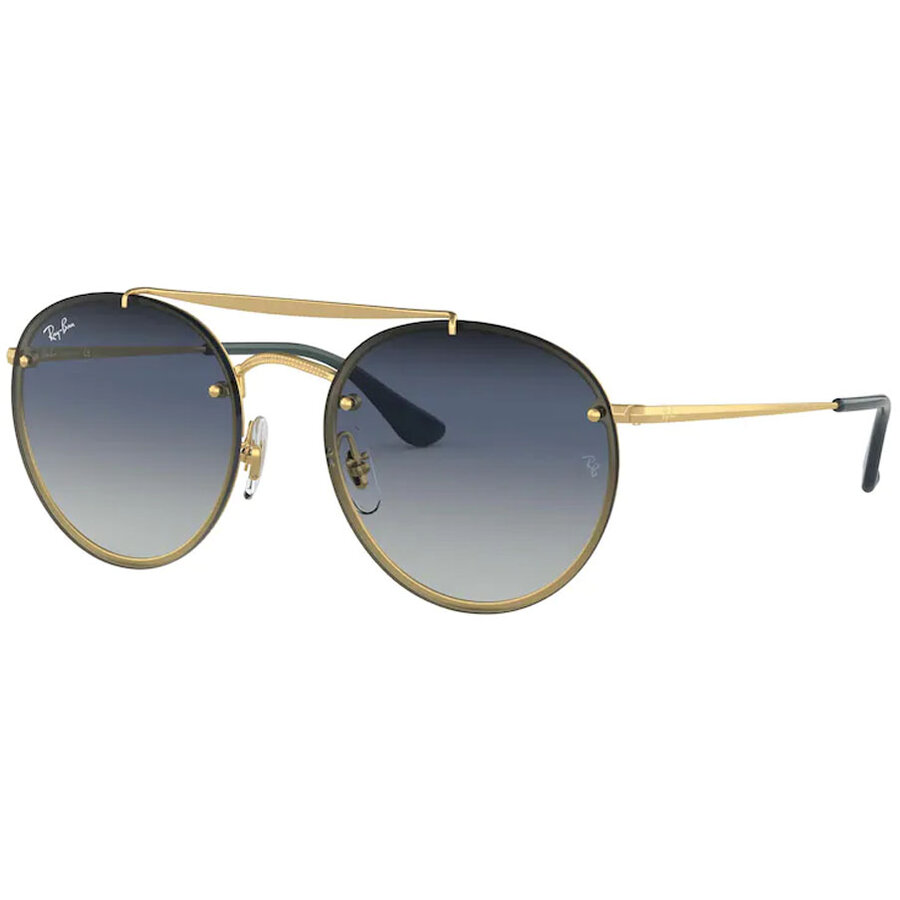 Ochelari de soare unisex Ray-Ban RB3614N 91400S Rotunzi originali cu comanda online