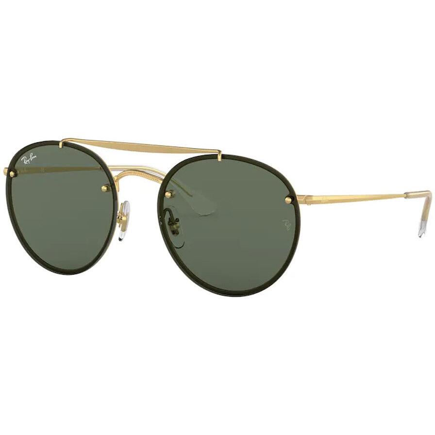 Ochelari de soare unisex Ray-Ban RB3614N 914071 Rotunzi originali cu comanda online