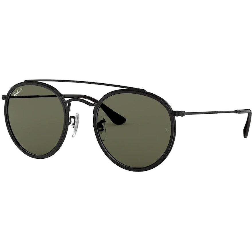 Ochelari de soare unisex Ray-Ban RB3647N 002/58 Rotunzi originali cu comanda online