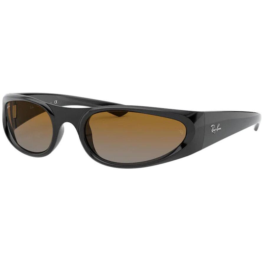 Ochelari de soare unisex Ray-Ban RB4332 601/I3 Ovali originali cu comanda online