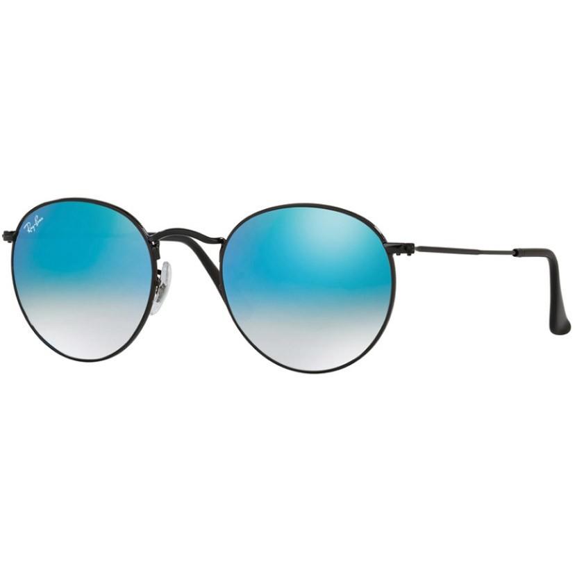 Ochelari de soare unisex Round Classic Ray-Ban RB3447 002/4O Rotunzi originali cu comanda online