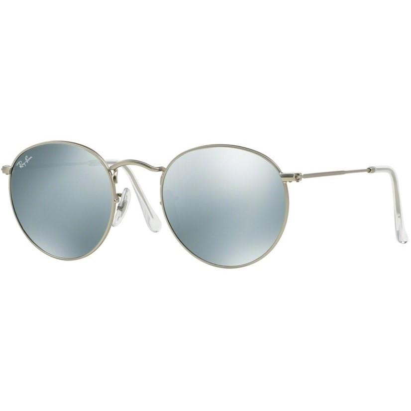Ochelari de soare unisex Round Classic Ray-Ban RB3447 019/30 Rotunzi originali cu comanda online