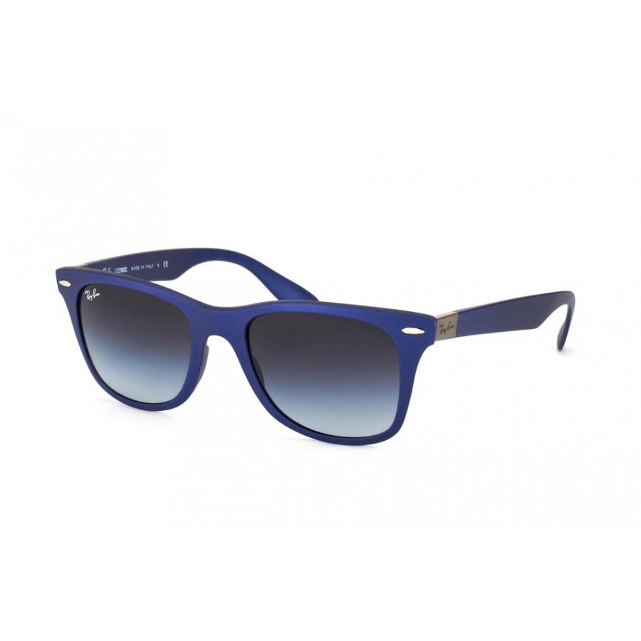 Ochelari de soare unisex Wayfarer Liteforce Ray-Ban RB4195 60158G Rectangulari originali cu comanda online