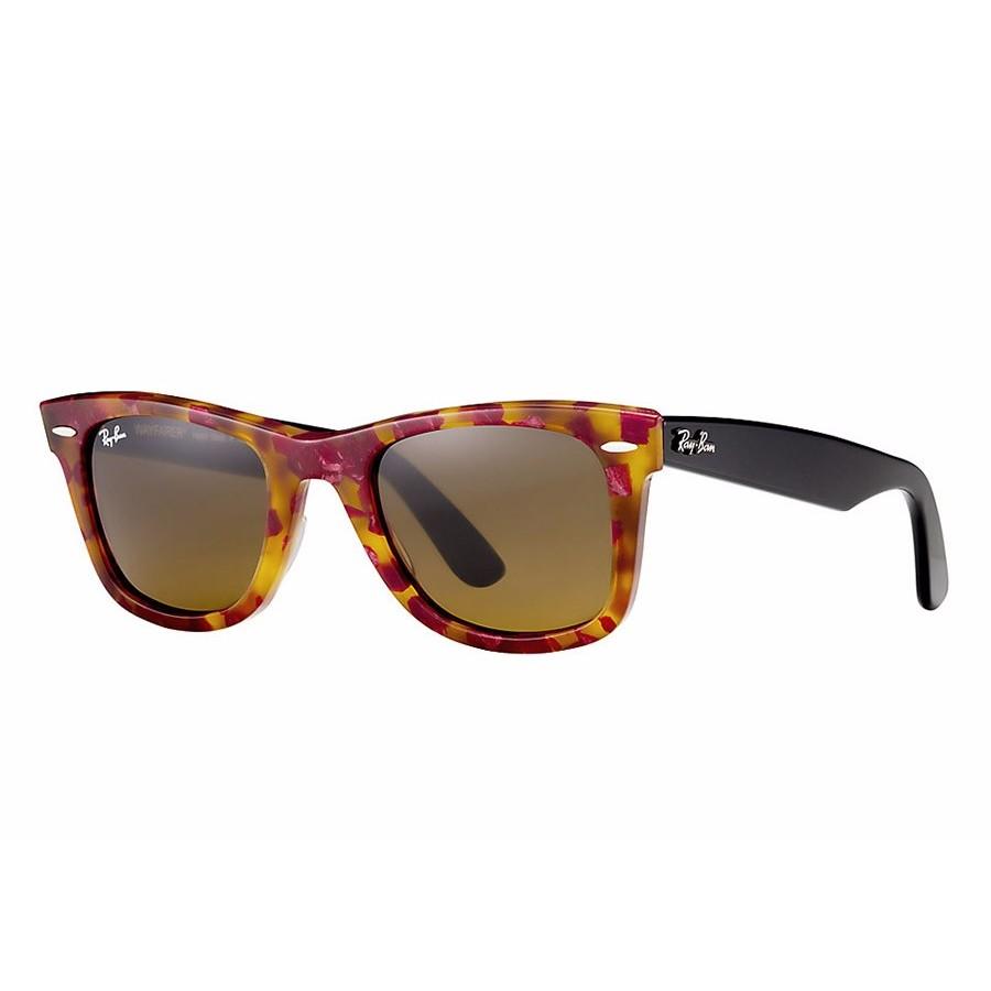 Ochelari de soare unisex Wayfarer Ray-Ban RB2140 1161 Rectangulari originali cu comanda online