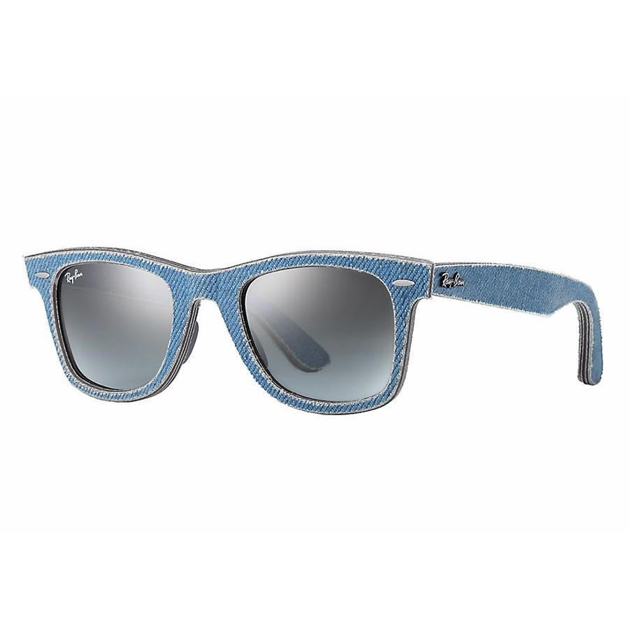 Ochelari de soare unisex Wayfarer Ray-Ban RB2140 11644M Rectangulari originali cu comanda online