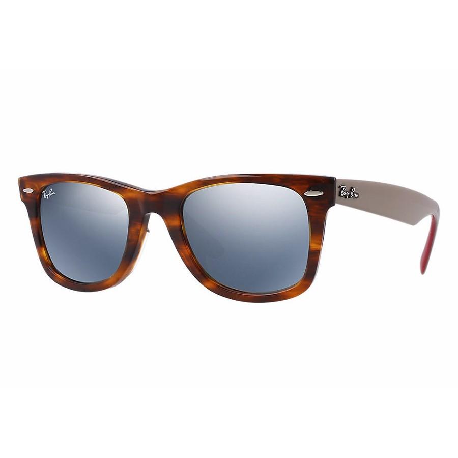 Ochelari de soare unisex Wayfarer Ray-Ban RB2140 117830 Rectangulari originali cu comanda online