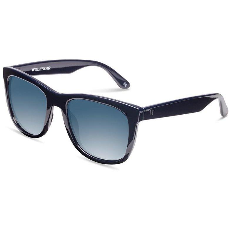 Ochelari de soare unisex Wolfnoir W08C04 KYBA MIDNIGHT BLUE Rectangulari originali cu comanda online