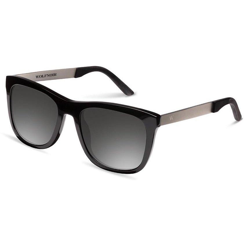 Ochelari de soare unisex Wolfnoir W08ST01 KYBA SILVER BLACK Rectangulari originali cu comanda online