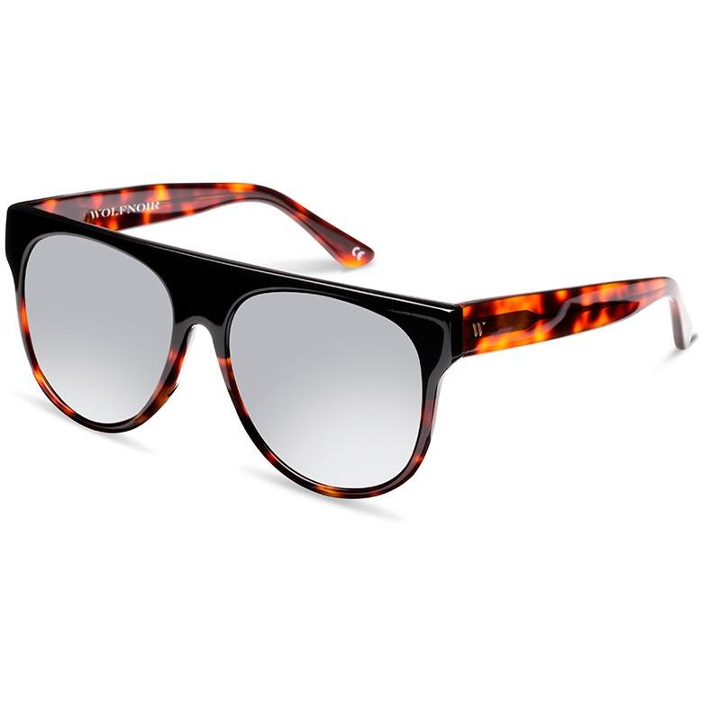 Ochelari de soare unisex Wolfnoir W10C04 UTTICA ACE BICOME BLACK Supradimensionati originali cu comanda online