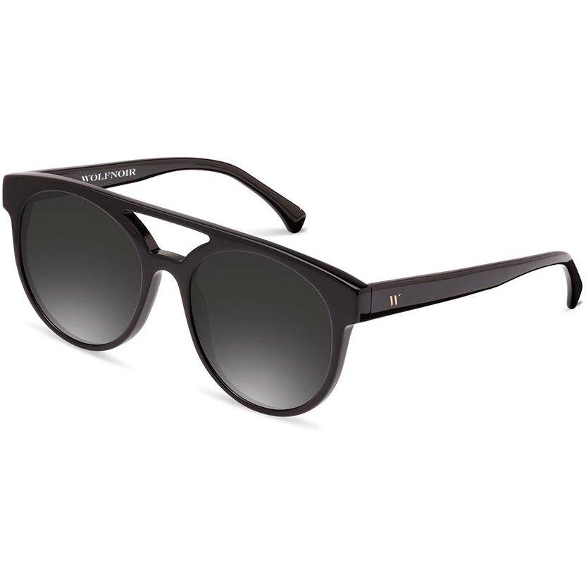 Ochelari de soare unisex Wolfnoir W13C01 LA LOUVE SHADOWY SMOKE Rotunzi originali cu comanda online