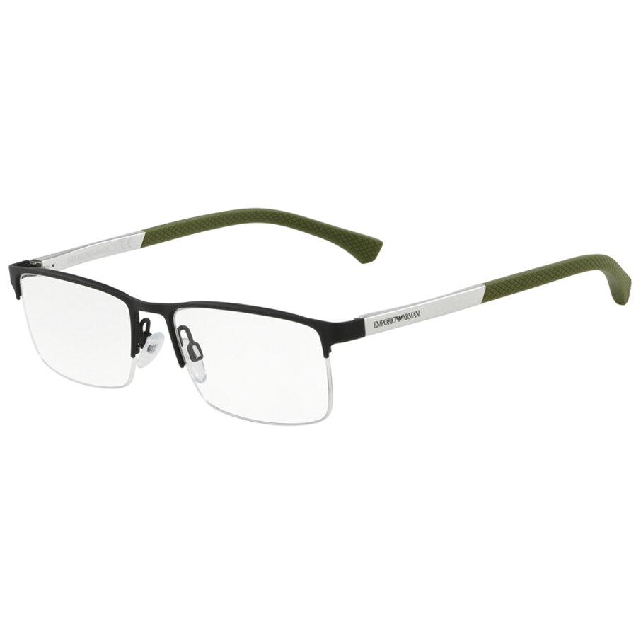 Rame ochelari de vedere Emporio Armani barbati EA1041 3272 Rectangulare originale cu comanda online