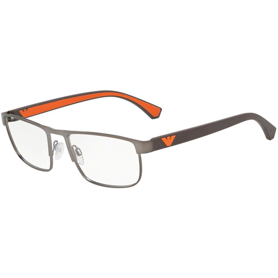 Rame ochelari de vedere Emporio Armani barbati EA1086 3003 Rectangulare originale cu comanda online