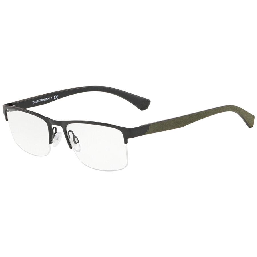 Rame ochelari de vedere Emporio Armani barbati EA1094 3001 Rectangulare originale cu comanda online