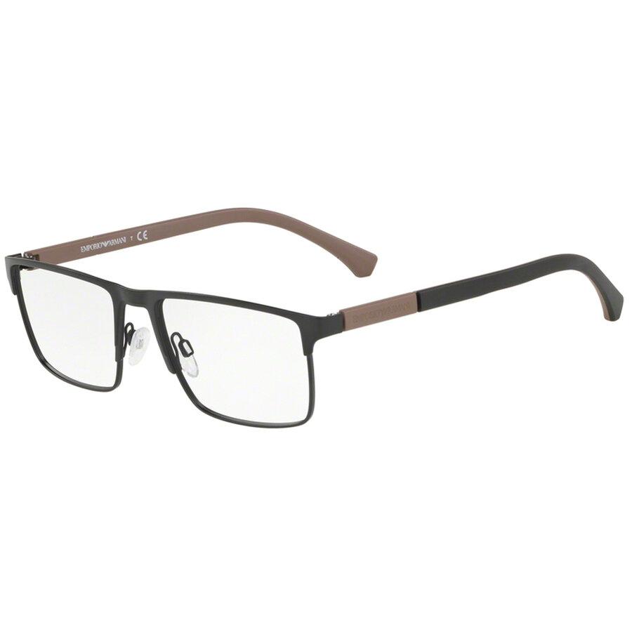 Rame ochelari de vedere Emporio Armani barbati EA1095 3001 Rectangulare originale cu comanda online
