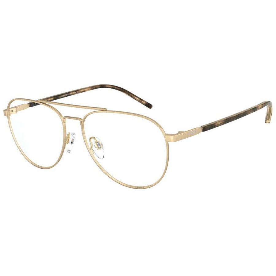 Rame ochelari de vedere Emporio Armani barbati EA1101 3002 Pilot originale cu comanda online
