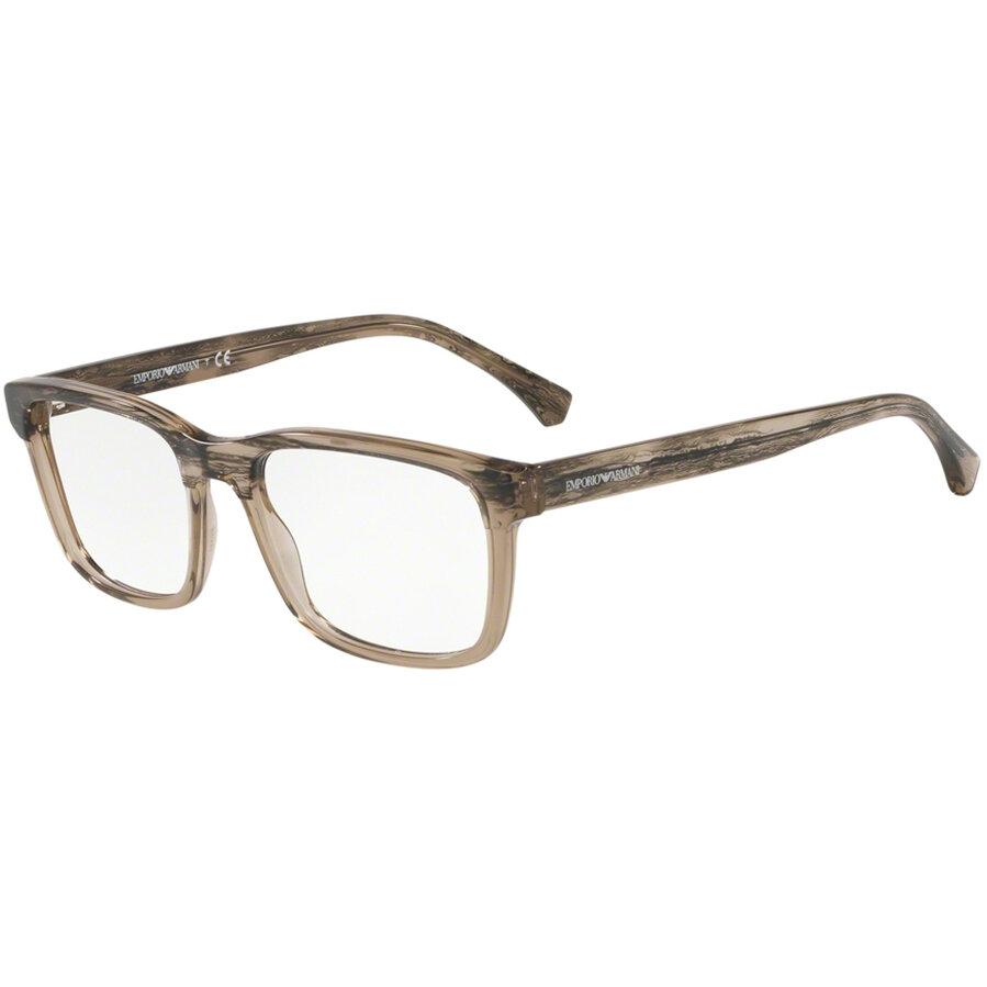 Rame ochelari de vedere Emporio Armani barbati EA3148 5747 Rectangulare originale cu comanda online