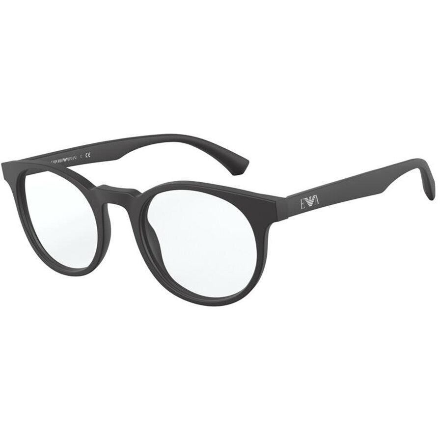 Rame ochelari de vedere Emporio Armani barbati EA3156 5042 Rotunde originale cu comanda online