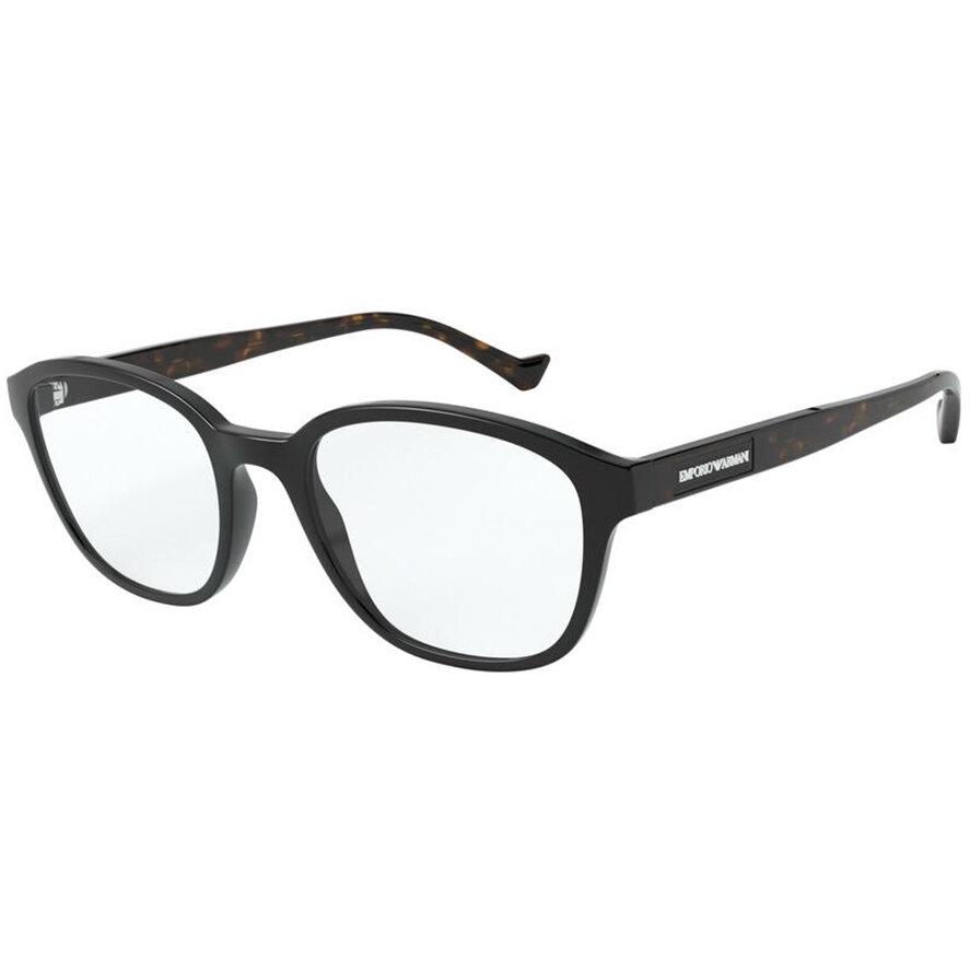 Rame ochelari de vedere Emporio Armani barbati EA3158 5017 Ovale originale cu comanda online
