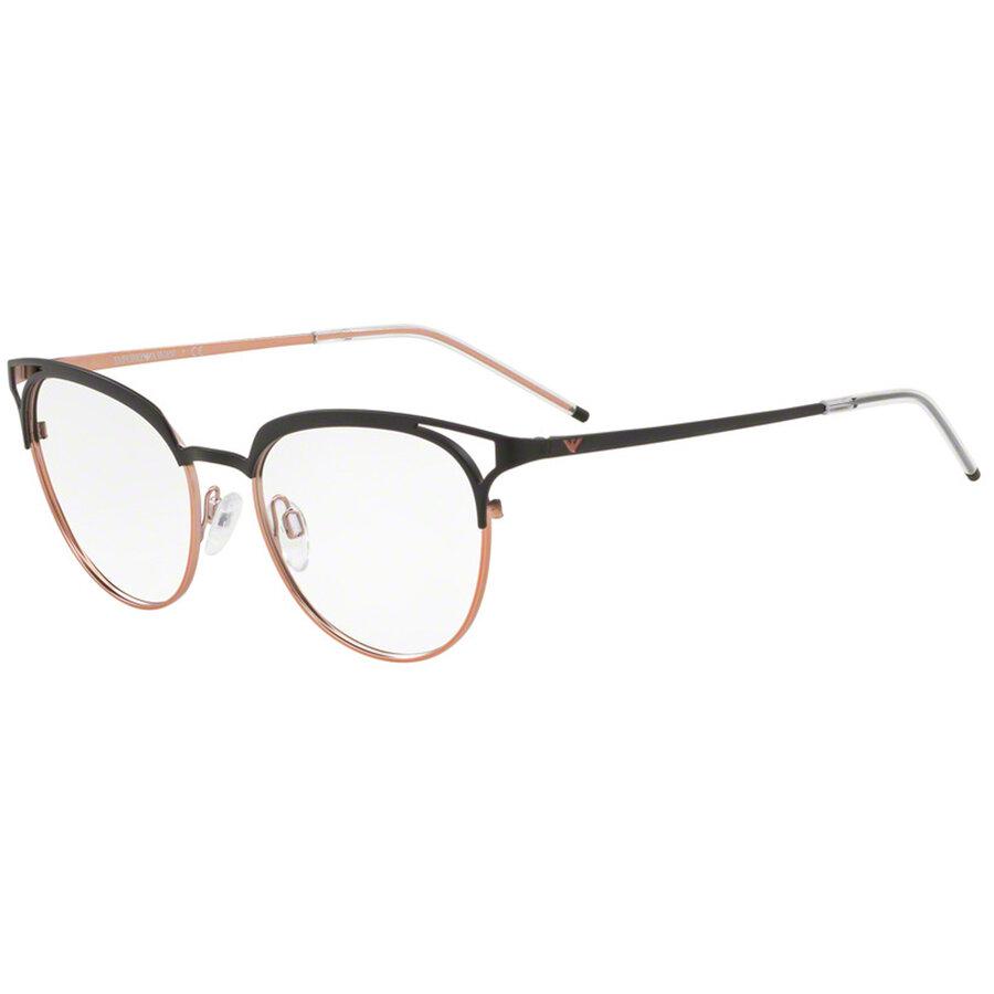 Rame ochelari de vedere Emporio Armani dama EA1082 3252 Ochi de pisica originale cu comanda online