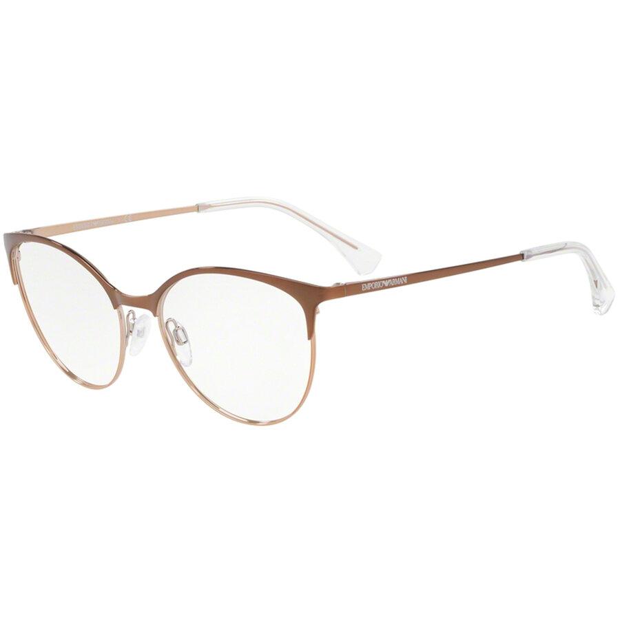 Rame ochelari de vedere Emporio Armani dama EA1087 3268 Ochi de pisica originale cu comanda online