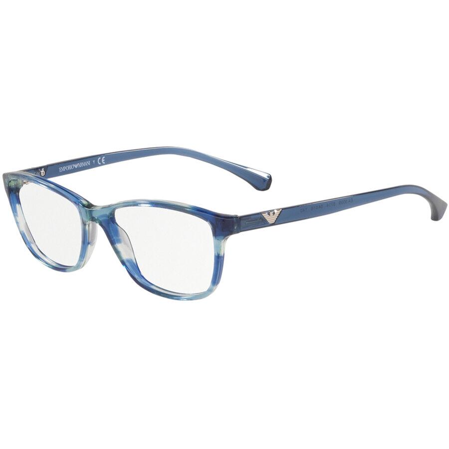 Rame ochelari de vedere Emporio Armani dama EA3099 5714 Ochi de pisica originale cu comanda online