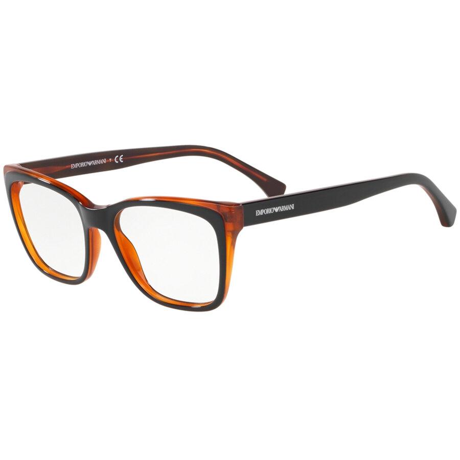 Rame ochelari de vedere Emporio Armani dama EA3146 5742 Ochi de pisica originale cu comanda online