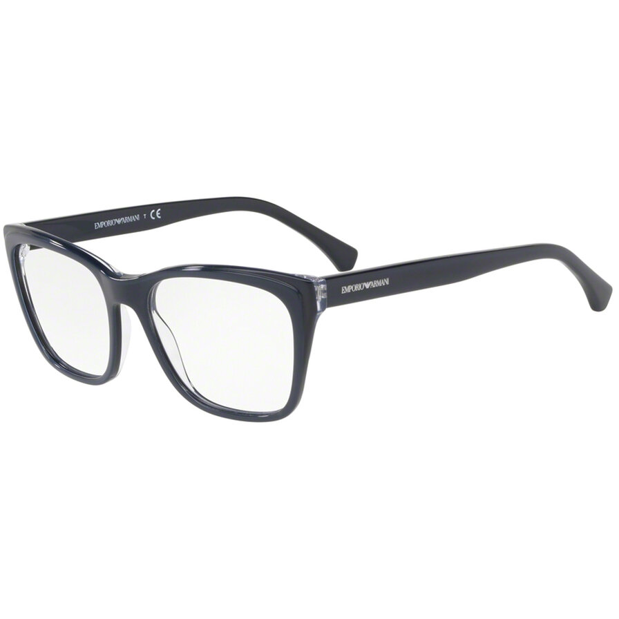 Rame ochelari de vedere Emporio Armani dama EA3146 5743 Ochi de pisica originale cu comanda online