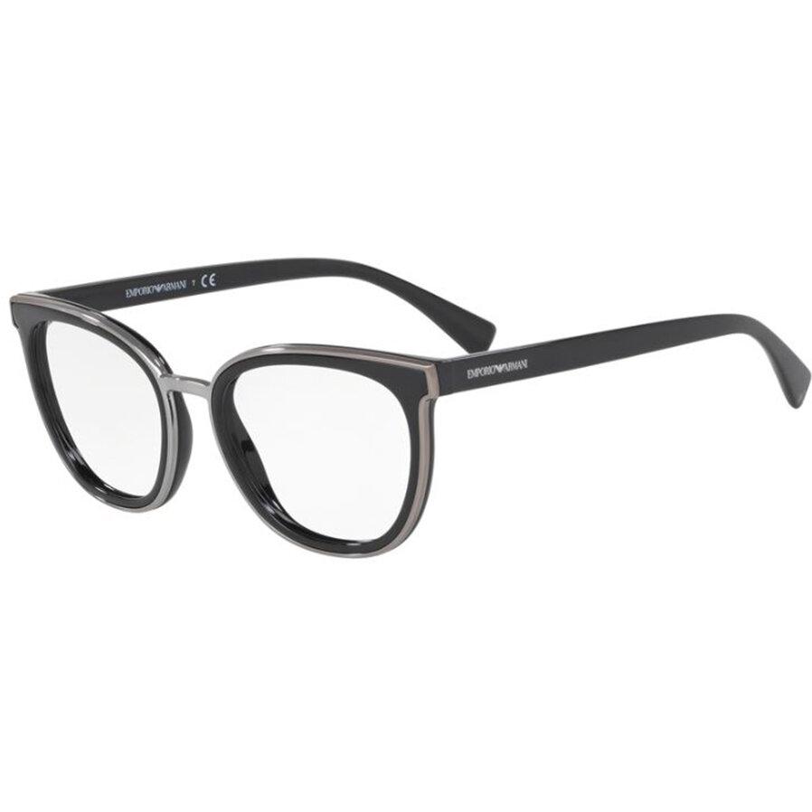 Rame ochelari de vedere Emporio Armani dama EA3155 5017 Ochi de pisica originale cu comanda online