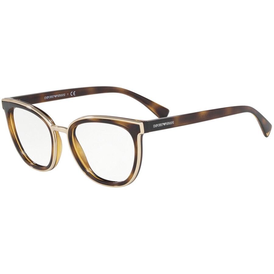 Rame ochelari de vedere Emporio Armani dama EA3155 5026 Ochi de pisica originale cu comanda online