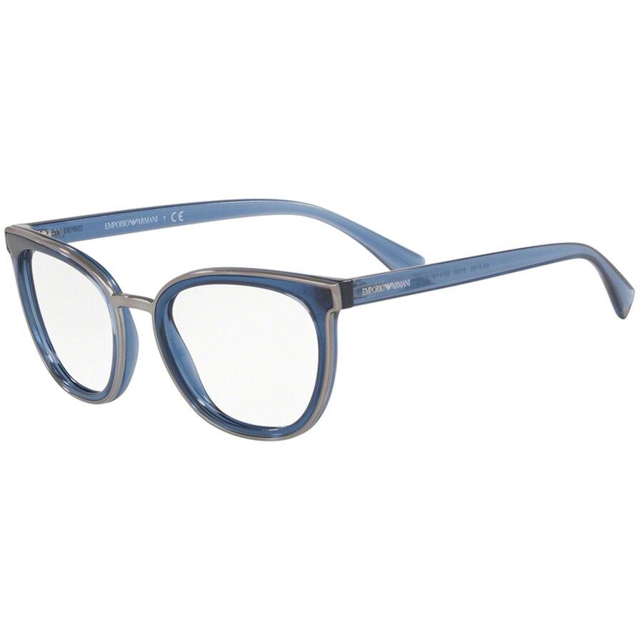 Rame ochelari de vedere Emporio Armani dama EA3155 5768 Ochi de pisica originale cu comanda online