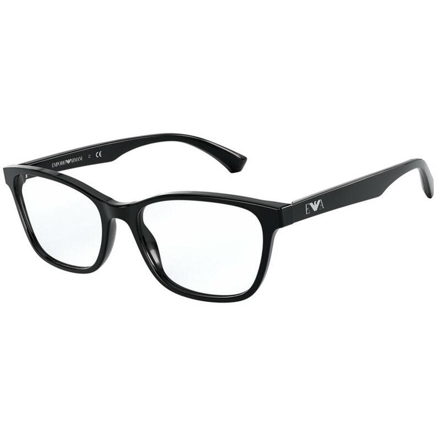 Rame ochelari de vedere Emporio Armani dama EA3157 5001 Ochi de pisica originale cu comanda online