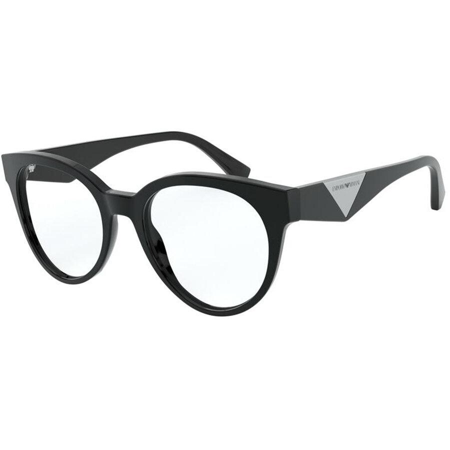 Rame ochelari de vedere Emporio Armani dama EA3160 5001 Ochi de pisica originale cu comanda online