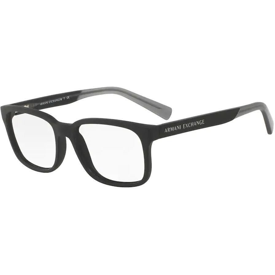 Rame ochelari de vedere barbati Armani Exchange AX3029 8182 Patrate originale cu comanda online