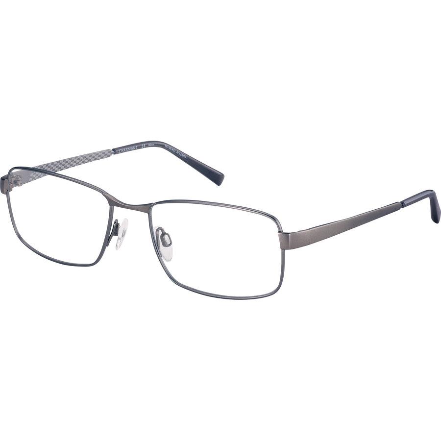 Rame ochelari de vedere barbati Charmant CH11438 GR Rectangulare originale cu comanda online