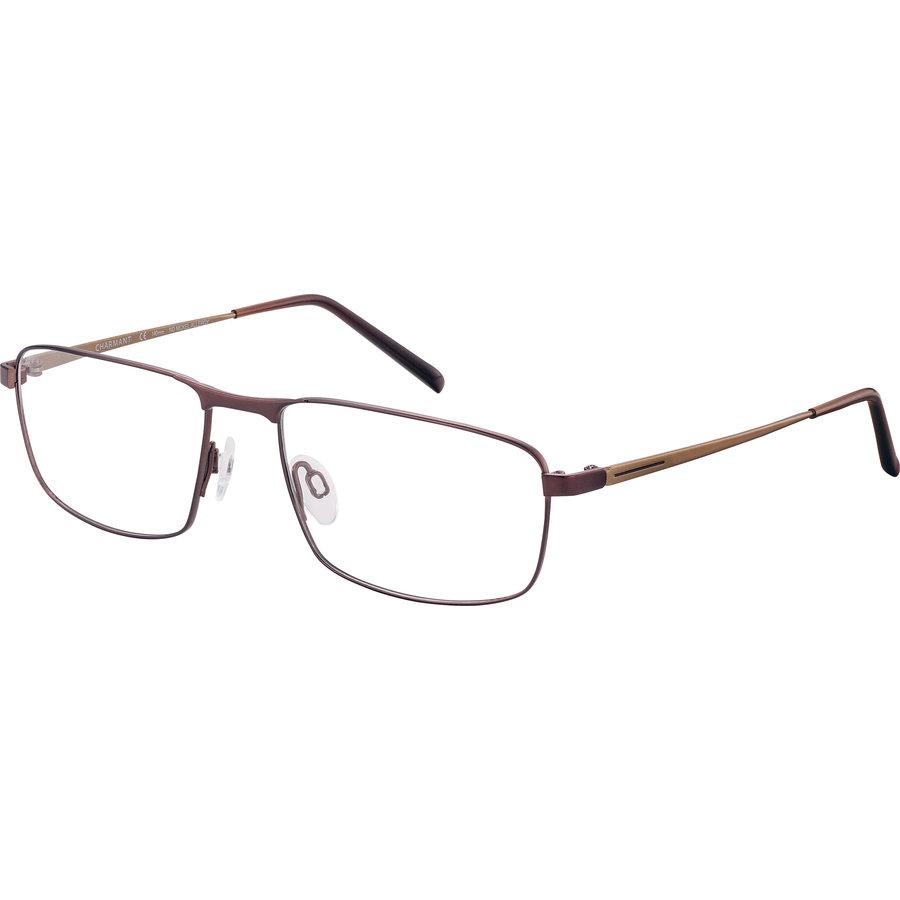 Rame ochelari de vedere barbati Charmant CH11440 BR Rectangulare originale cu comanda online