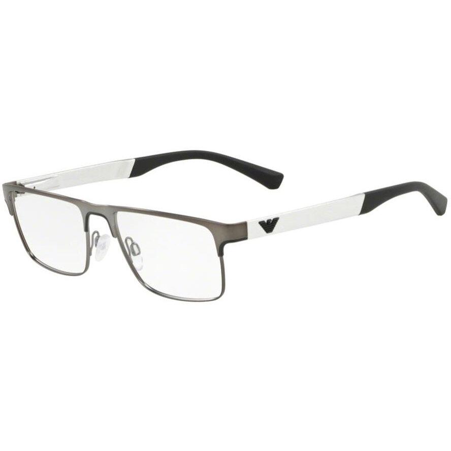 Rame ochelari de vedere barbati Emporio Armani EA1075 3230 Rectangulare originale cu comanda online