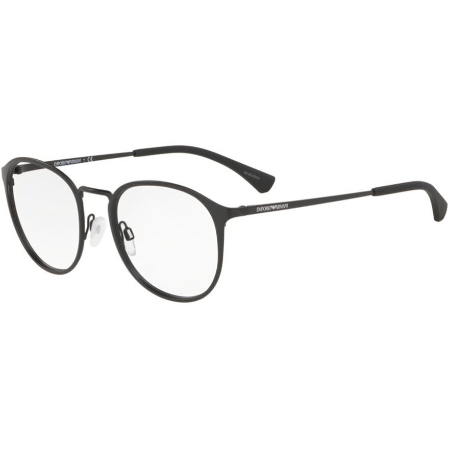 Rame ochelari de vedere barbati Emporio Armani EA1091 3001 Rotunde originale cu comanda online