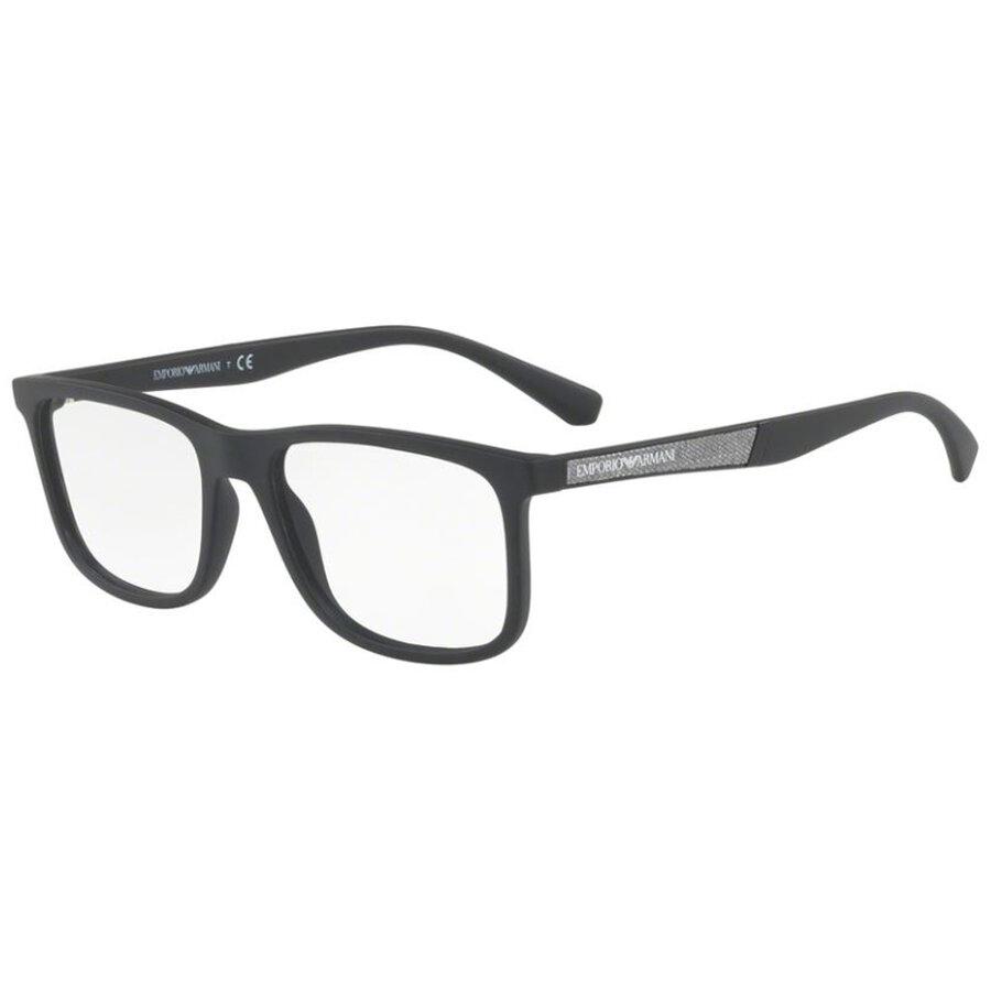 Rame ochelari de vedere barbati Emporio Armani EA3112 5042 Rectangulare originale cu comanda online