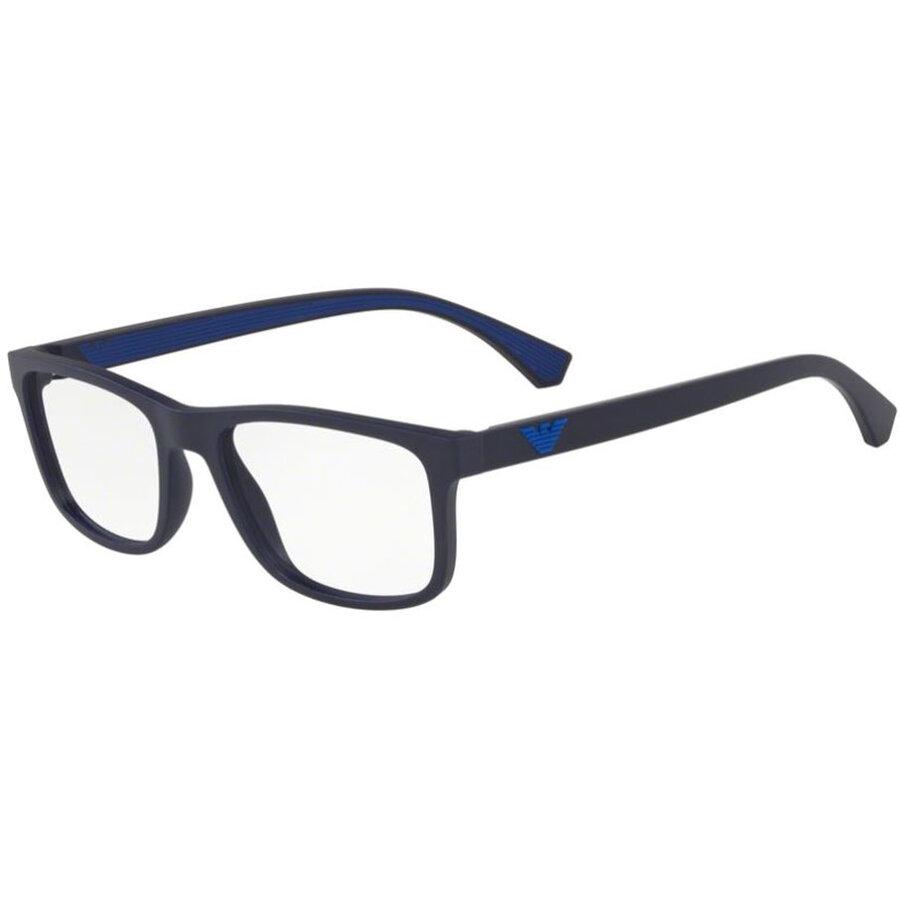 Rame ochelari de vedere barbati Emporio Armani EA3147 5754 Rectangulare originale cu comanda online