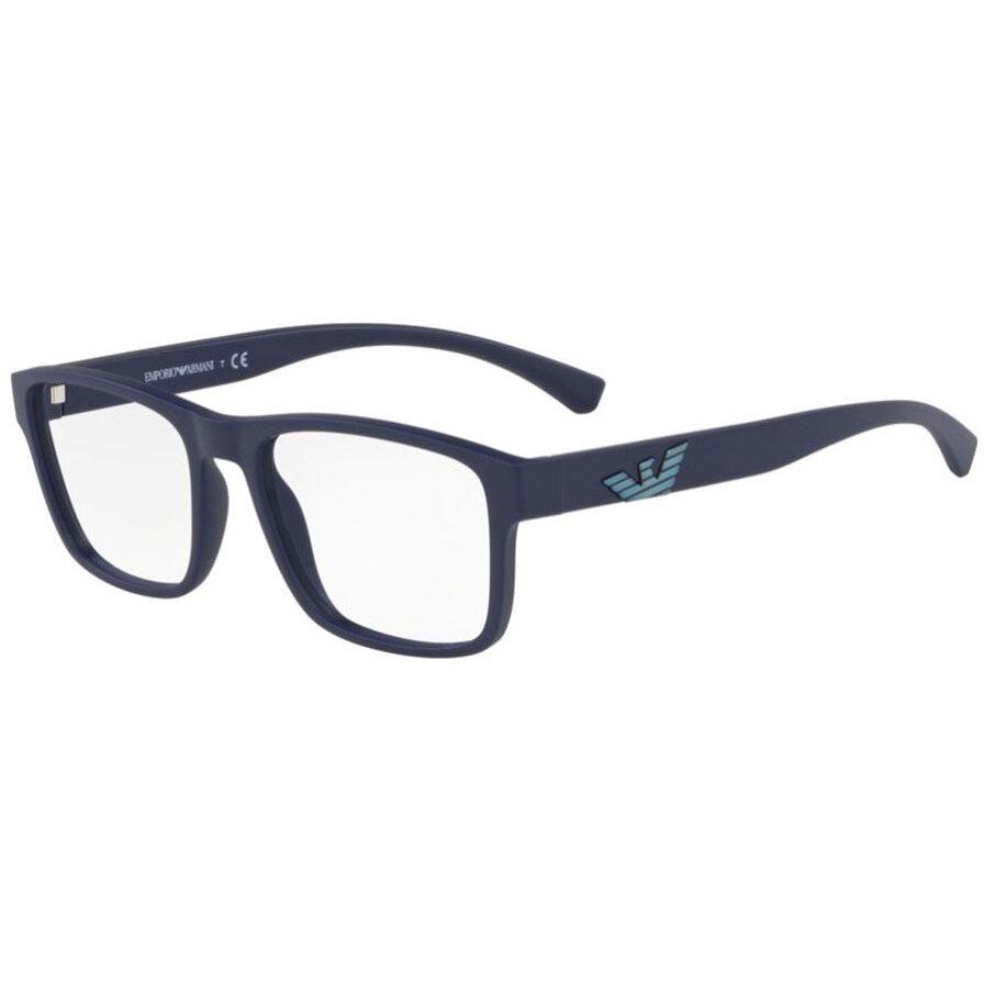 Rame ochelari de vedere barbati Emporio Armani EA3149 5754 Patrate originale cu comanda online
