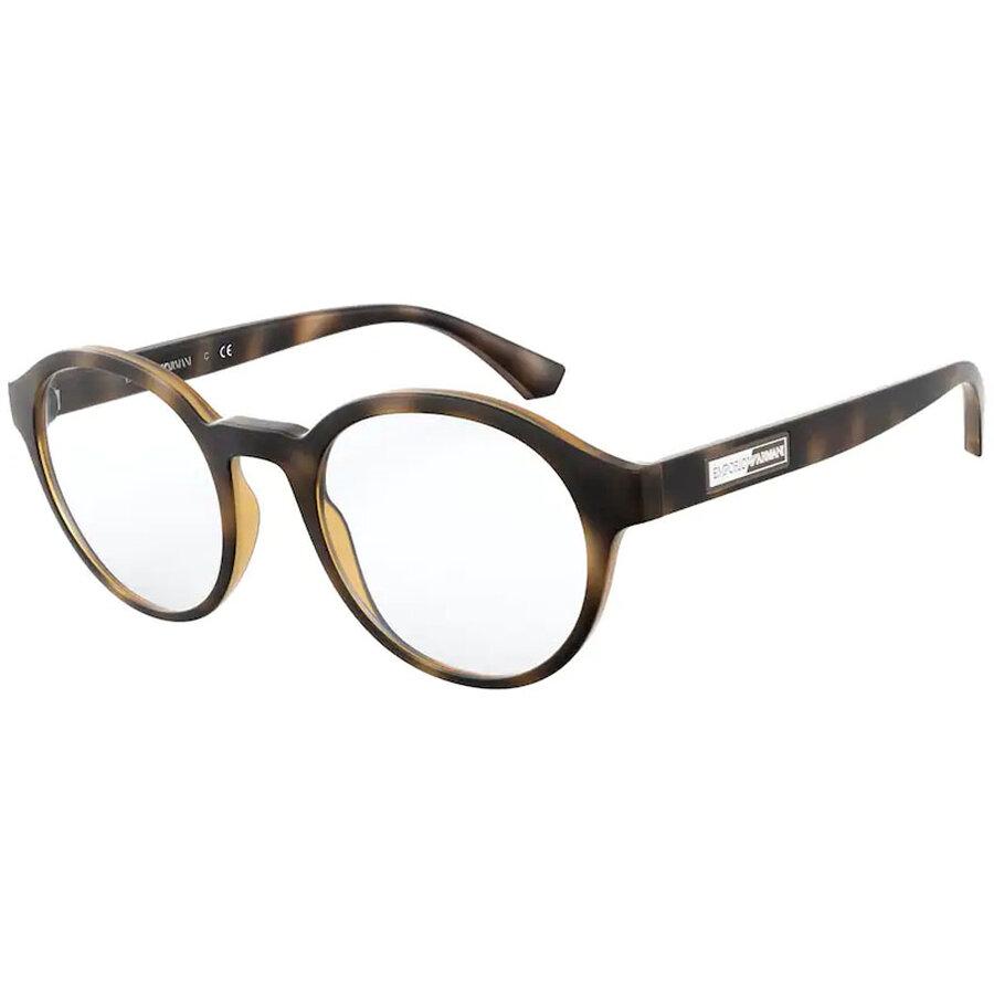 Rame ochelari de vedere barbati Emporio Armani EA3163 5089 Rotunde originale cu comanda online