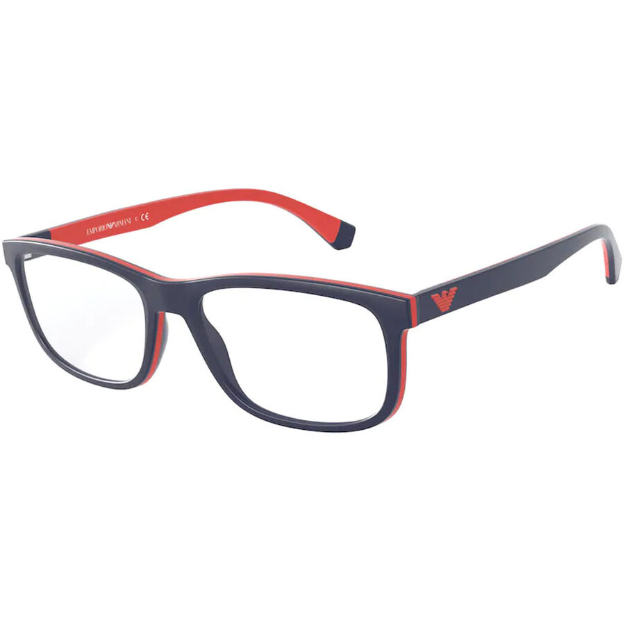 Rame ochelari de vedere barbati Emporio Armani EA3164 5754 Rectangulare originale cu comanda online