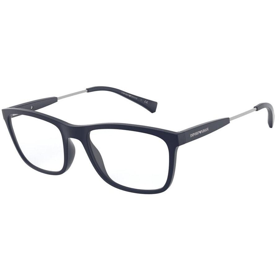 Rame ochelari de vedere barbati Emporio Armani EA3165 5754 Rectangulare originale cu comanda online