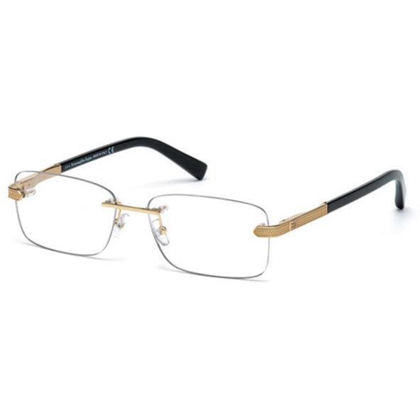 Rame ochelari de vedere barbati Ermenegildo Zegna EZ5010 028 Rectangulare originale cu comanda online