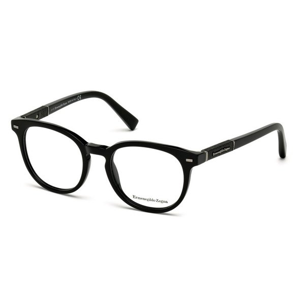 Rame ochelari de vedere barbati Ermenegildo Zegna EZ5036 001 Rotunde originale cu comanda online