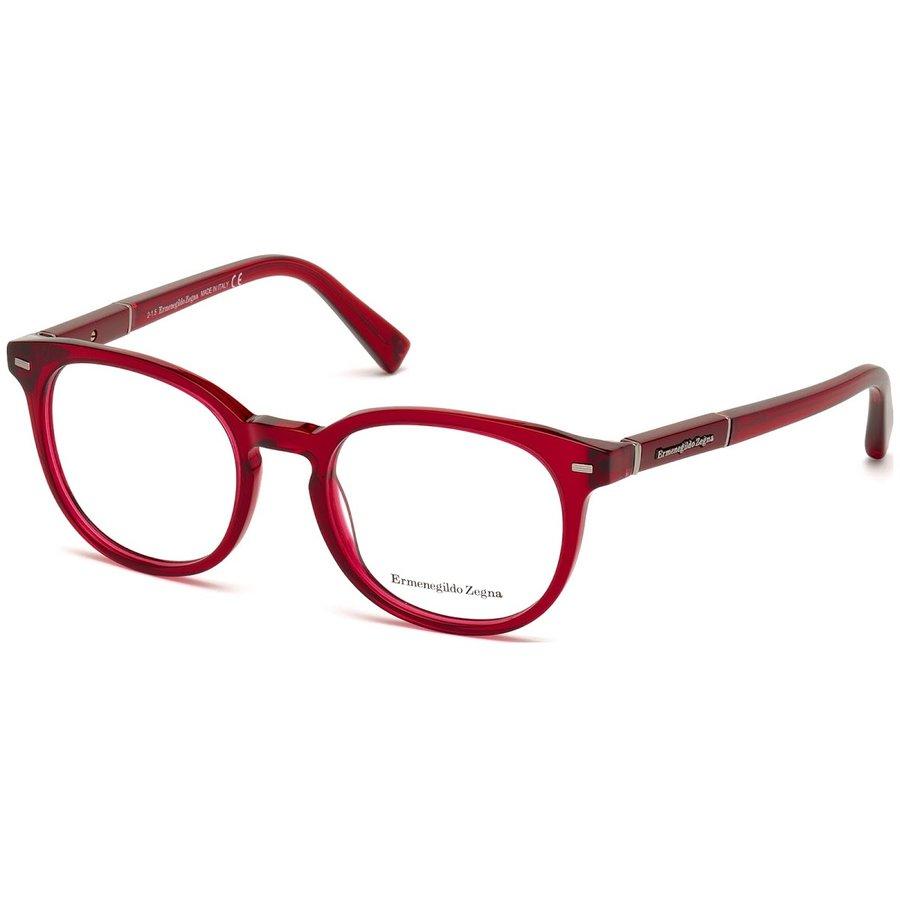 Rame ochelari de vedere barbati Ermenegildo Zegna EZ5036 069 Rotunde originale cu comanda online