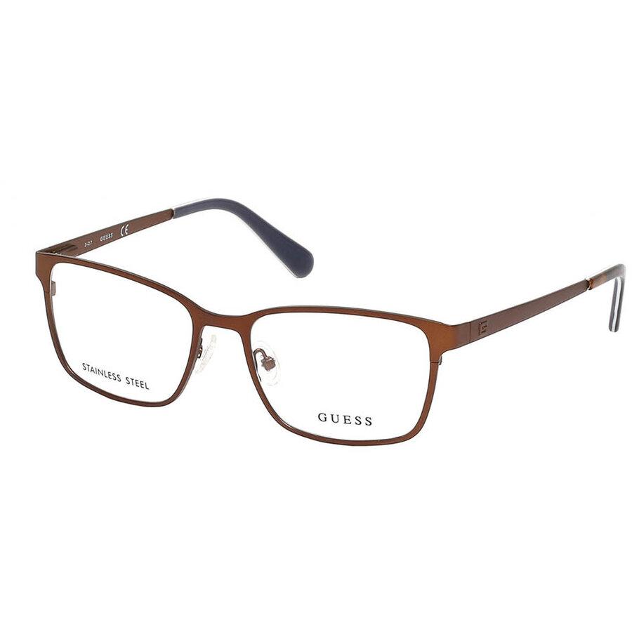 Rame ochelari de vedere barbati Guess GU1958 049 Rectangulare originale cu comanda online