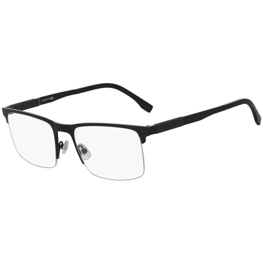 Rame ochelari de vedere barbati Lacoste L2244 002 Rectangulare originale cu comanda online