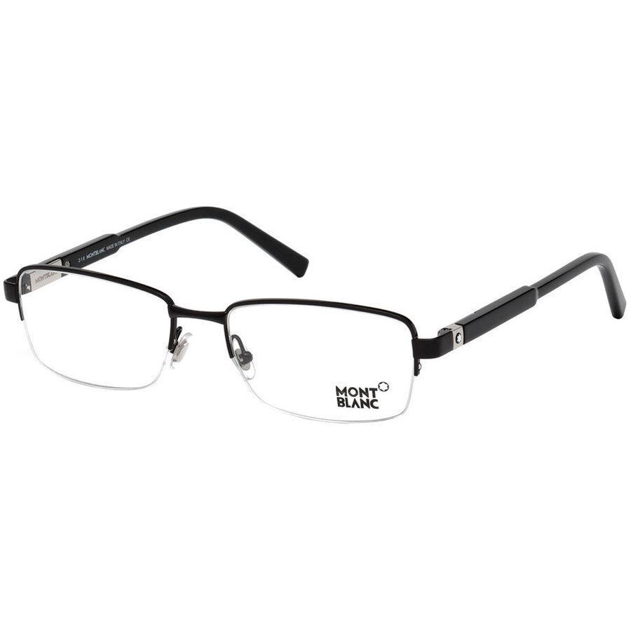 Rame ochelari de vedere barbati Montblanc MB0635 001 Rectangulare originale cu comanda online